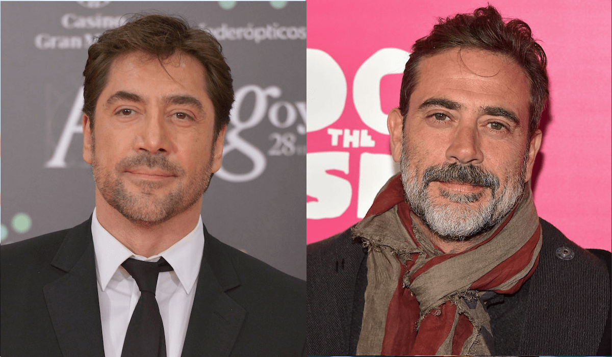 <p>E' uno dei cattivi più famosi del cinema, e Javier Bardem sembra avere un fratello gemello in Jeffrey Dean Morgan, nel cast principale della serie televisiva The Walking Dead, dove interpreta il ruolo del villain Negan. </p>