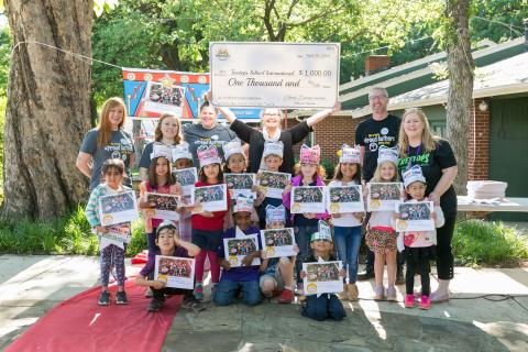 Studentreasures Celebrates 15 Millionth Student-Published Author Milestone at Treetops School International in Texas