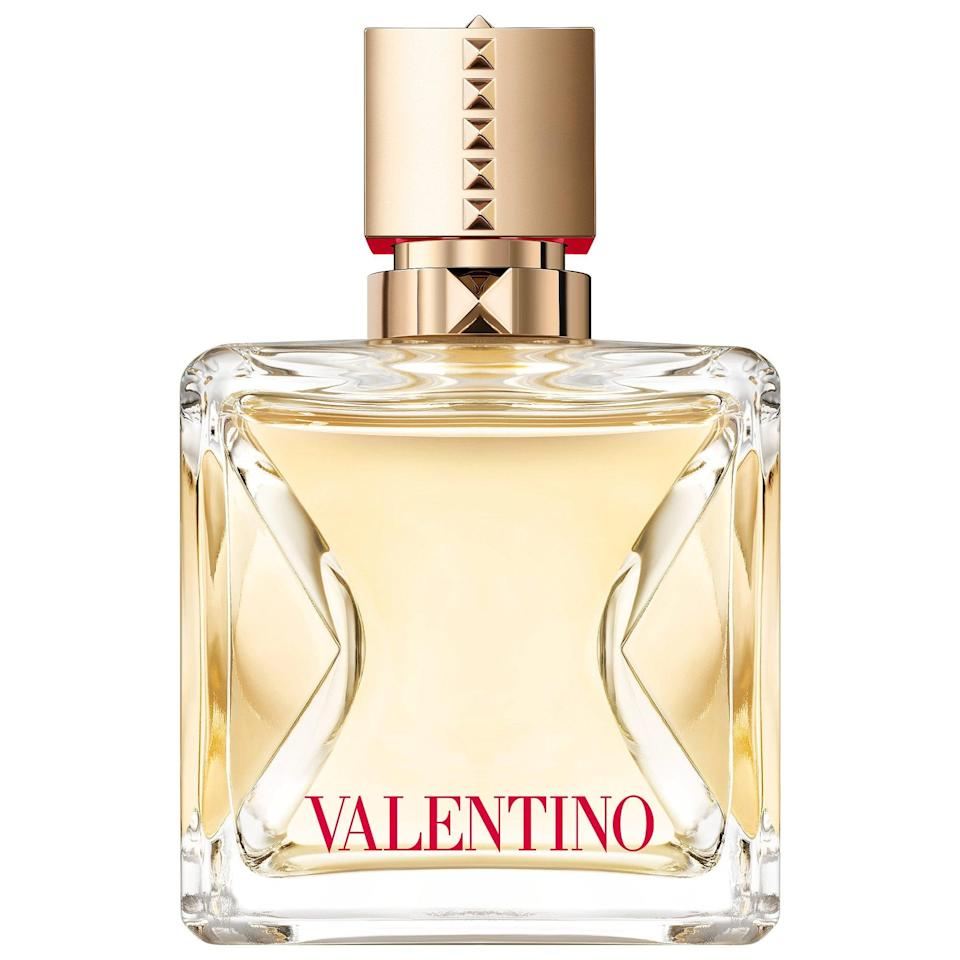 <p>The <span>Valentino Voce Viva Eau de Parfum</span> ($30-$130) is a new scent with gardenia, bergamot, and orange blossom so imagine yourself on a fall trip to southern Italy when this one is spritzed on.</p>