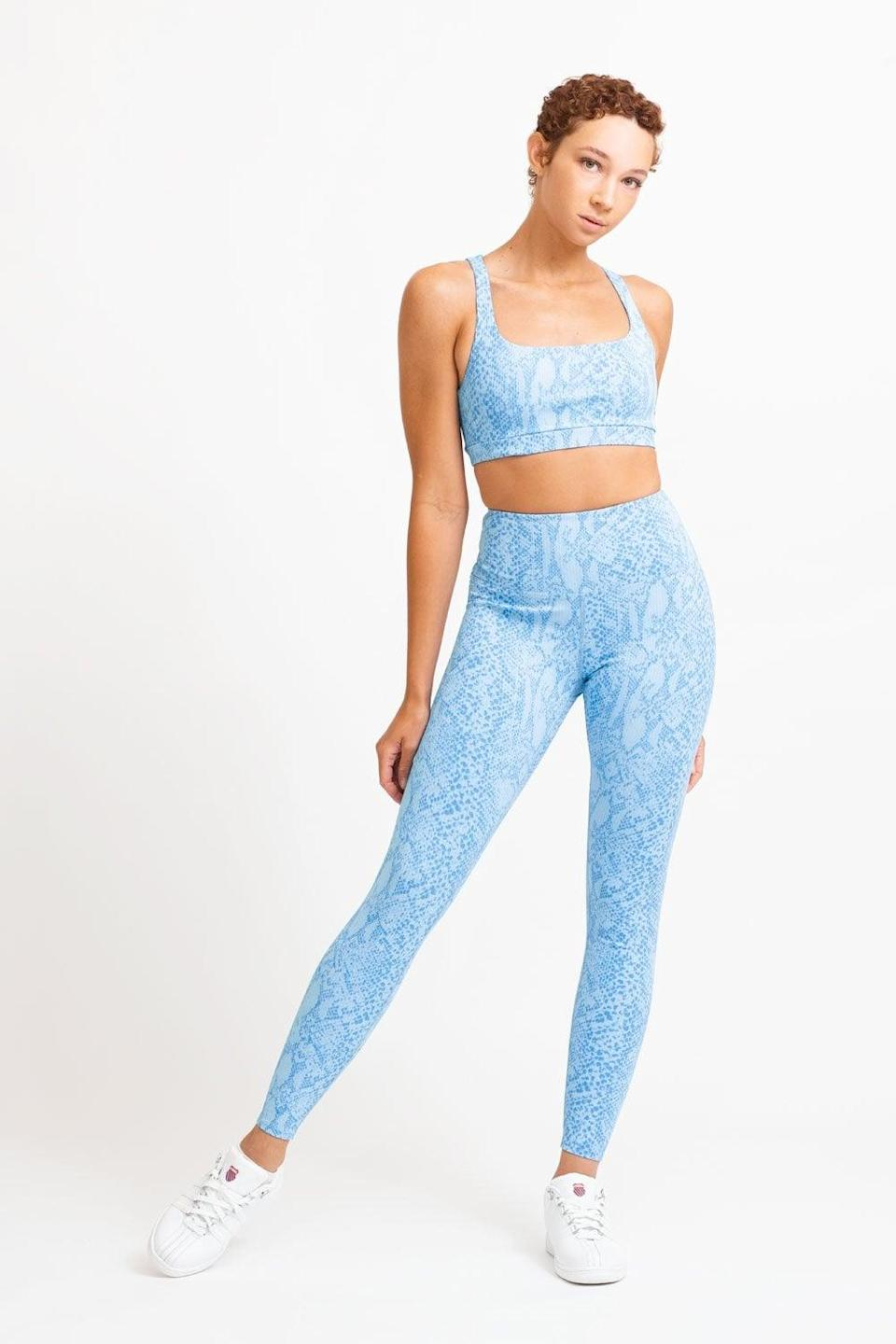 <p>We're obsessed with the pattern on this classic <span>Eleven by Venus Williams Python Legging</span> ($99) and <span>Eleven by Venus Williams High Tide Sports Bra</span> ($75) set.</p>