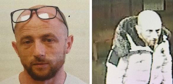 Two photos issued by the Met to trace William Trotter. (Met Police)