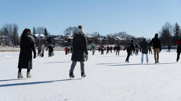 Visitors enjoy a sunny afternoon on the Rideau Canal Skateway. The National Capital Commission is asking people to avoid the busiest times at some of the region's most popular outdoor attractions.