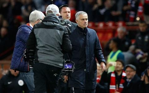 """Jose Mourinho prepares to face former club Chelsea on Saturday admitting for the first time that the perceived """"manhunt"""" against him is starting to take its toll personally."""