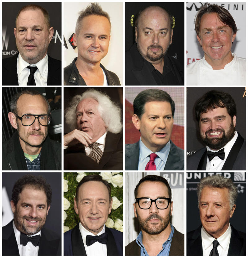 Since Weinstein: The growing list of the accused