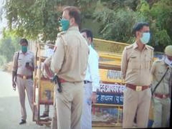 Outsiders were not allowed in Hathras for many days since the death of the victim on September 29. (ANI file photo)