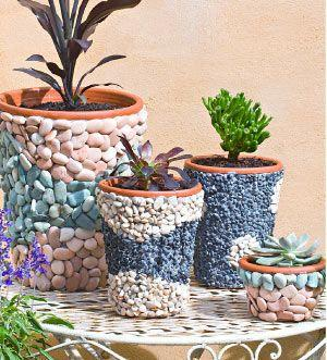 Decorating Pots