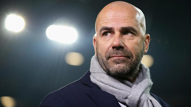 Peter Bosz told Ajax they still had work to do in their Europa League semi-final against Lyon.