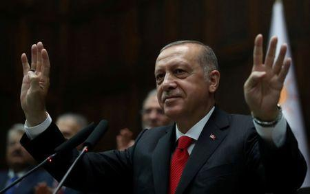 FILE PHOTO: Turkish President Tayyip Erdogan