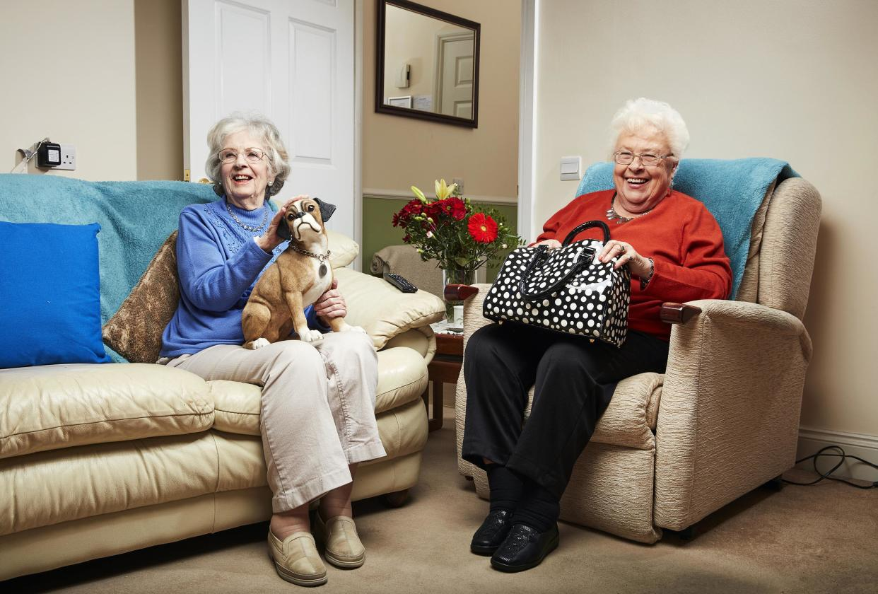 Mary Cook and Marina Wingrove in Gogglebox (Channel 4)