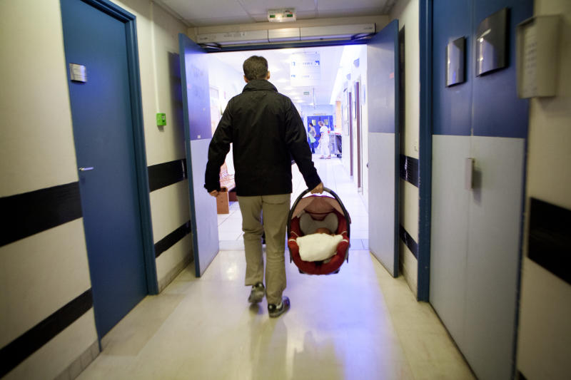 Fathers face some persistent social stigmas when taking time away from work after the birth of a child. Photo: Getty