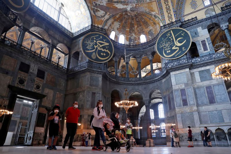 Changes to Istanbul's Hagia Sophia could trigger heritage review: UNESCO