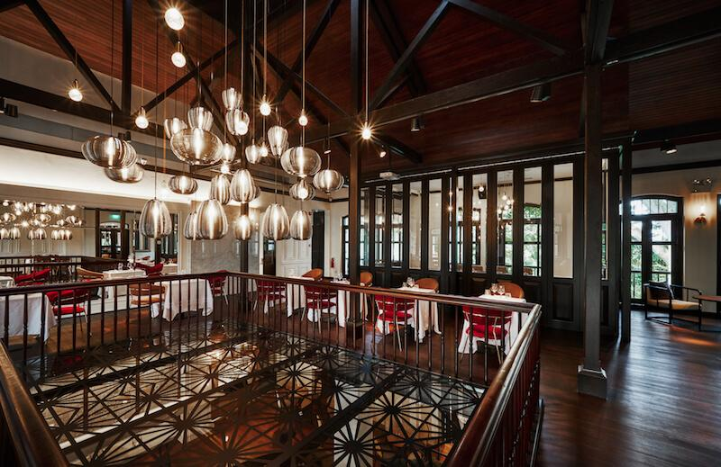 Una's main dining room. Photo: The Alkaff Mansion
