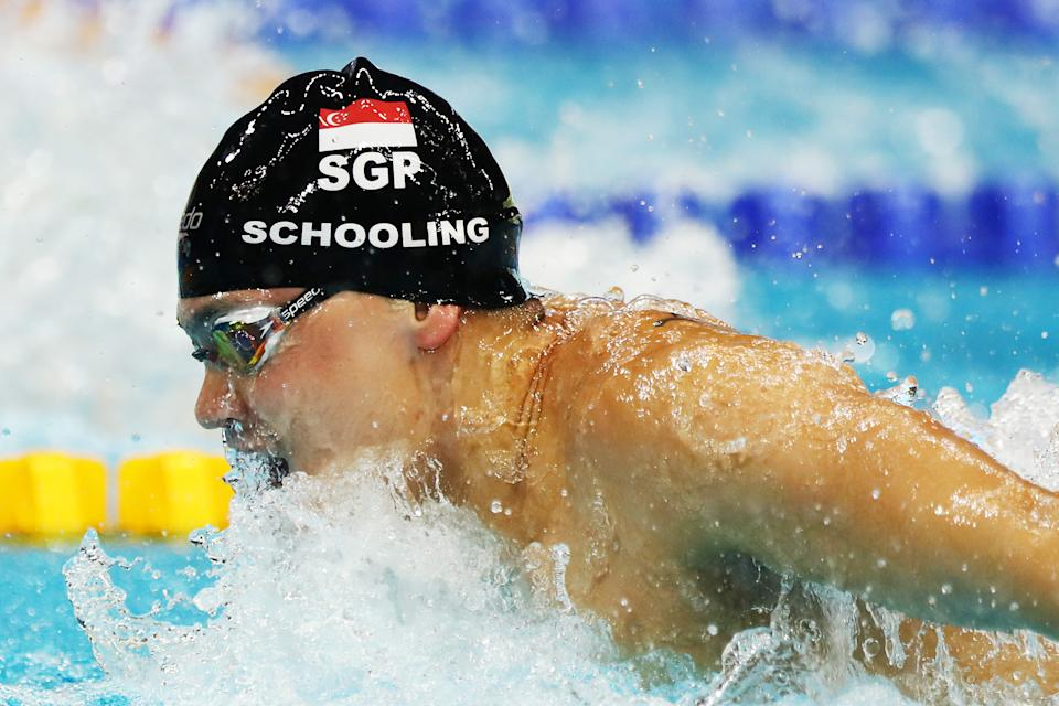 Joseph Schooling. (Photo by Yong Teck Lim/Getty Images)