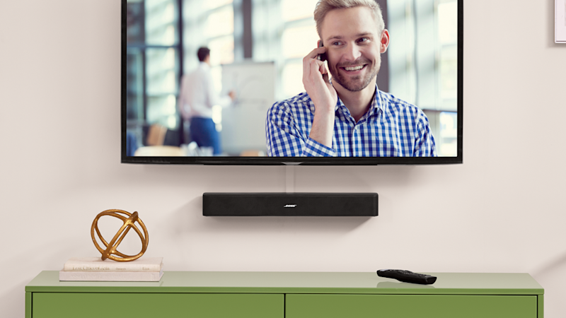 Upgrade your TV's audio with a soundbar. (Photo: Walmart)