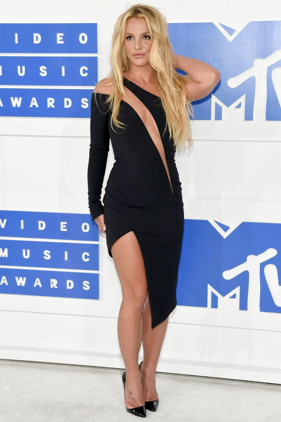 <p>Despite her love of glitzy costumes and bodycon dresses (plus double denim, back in the day), Britney Spears has never stepped out on fashion's biggest stage. </p>
