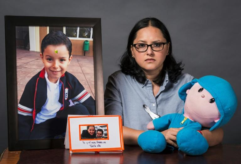 Single mother Miriam Rodriguez Guise lost her seven-year-old son Jose Eduardo in the Rebsamen elementary school collapse