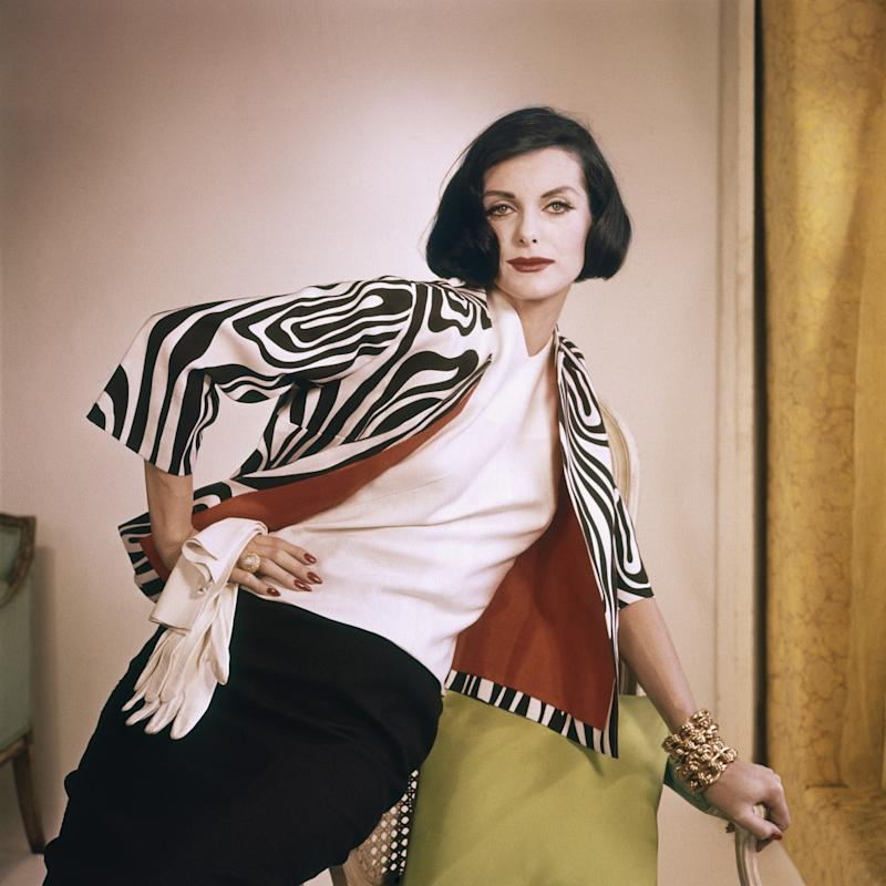 Anne St. Marie in 1960 - Conde Nast Collection Editorial