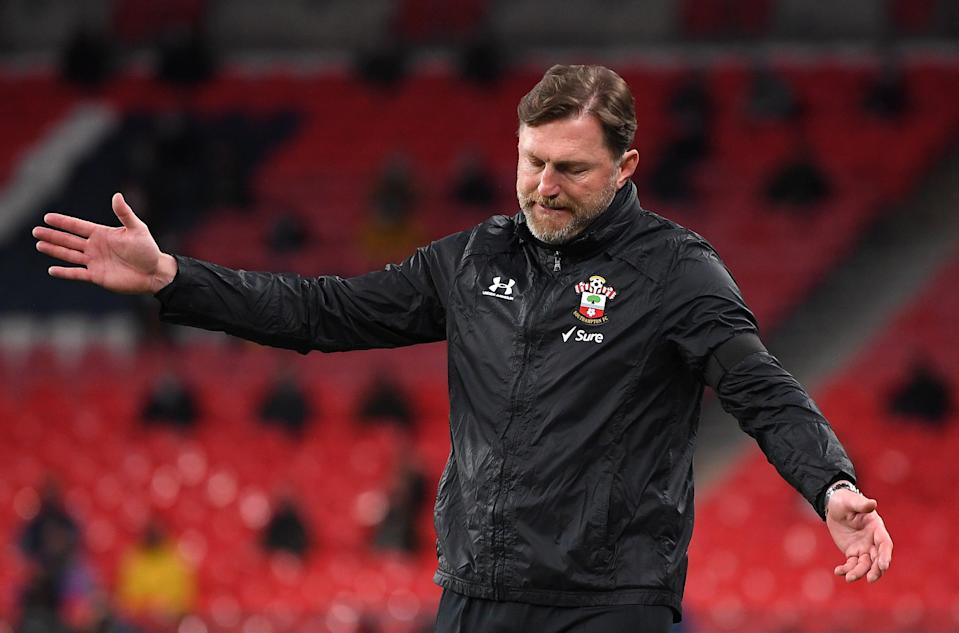 <p>It has been a tough 2021 for Southampton</p> (The FA via Getty Images)