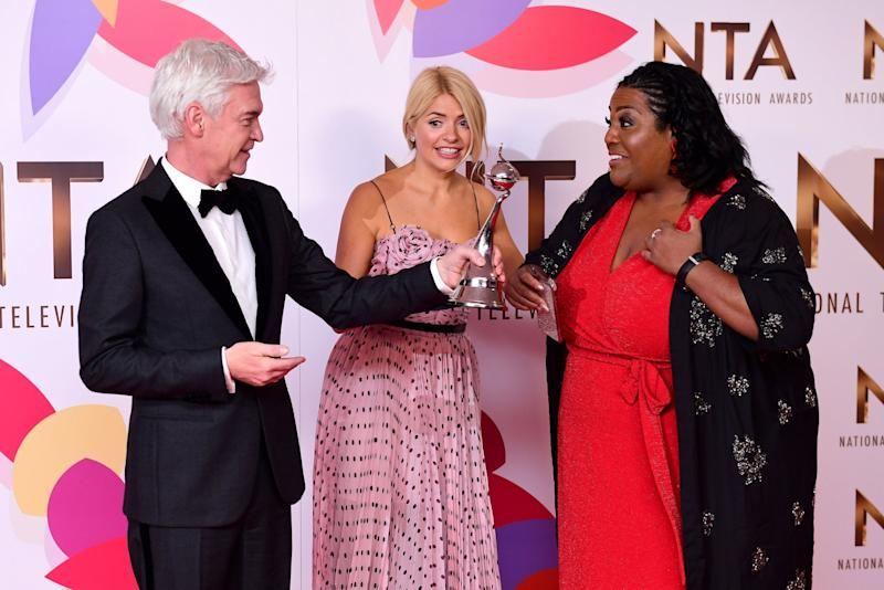 Alison Hammond will also appear on This Morning (PA)