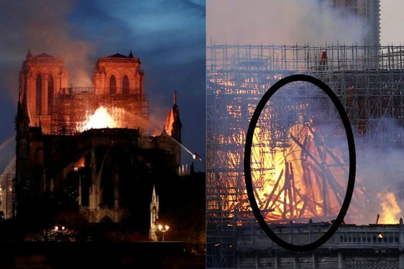 A Divine Intervention? Woman Claims That She Saw Jesus In Notre Dame Flames