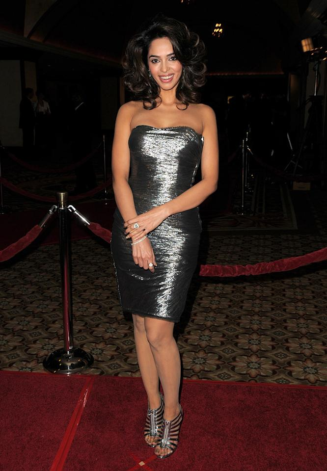 """<a href=""""http://movies.yahoo.com/movie/contributor/1808789295"""">Mallika Sherawat</a> at the 62nd Annual Directors Guild of America Awards in Century City, California on January 30, 2010."""