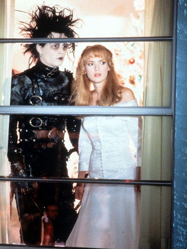 """<p><a class=""""link rapid-noclick-resp"""" href=""""http://www.amazon.com/Edward-Scissorhands-Johnny-Depp/dp/B009EEQKIY?tag=syn-yahoo-20&ascsubtag=%5Bartid%7C10058.g.2509%5Bsrc%7Cyahoo-us"""" rel=""""nofollow noopener"""" target=""""_blank"""" data-ylk=""""slk:watch"""">watch</a><br></p><p>Johnny Depp and Winona Ryder in the '90s were at the prime of their quirky weirdness in this Edward Burton flick that captures Depp as a human weapon with literal scissors for hands (but with lots of feelings, mind you). It's also the film that brought together the <a href=""""http://www.fanpop.com/clubs/johnny-depp/quiz/show/440477/tattoo-with-words-wino-forever-dedicated-____http://www.fanpop.com/clubs/johnny-depp/quiz/show/440477/tattoo-with-words-wino-forever-dedicated-____"""" rel=""""nofollow noopener"""" target=""""_blank"""" data-ylk=""""slk:&quot;Winona Forever&quot;"""" class=""""link rapid-noclick-resp"""">""""Winona Forever""""</a> power couple of the '90s.</p>"""