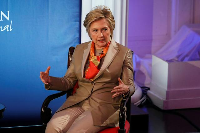 Hillary Clinton at Women for Women forum