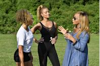 """<p>Besides securing locations to film (more on that later), the production team gives each cast member a written call sheet. According to Bravo producer, <a href=""""https://www.bravotv.com/the-real-housewives-of-beverly-hills/season-2/blogs/be-prepared"""" rel=""""nofollow noopener"""" target=""""_blank"""" data-ylk=""""slk:Dave Rupel"""" class=""""link rapid-noclick-resp"""">Dave Rupel</a> this """"outlines the next day's shoot schedule. Times, locations, weather conditions, etc.""""</p>"""