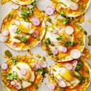 "<p>We all know breakfast for dinner is always a good idea, especially when you introduce these sheet-pan tacos, drizzled with a vibrant tomatillo salsa, to the menu.</p><p><em><a href=""https://www.goodhousekeeping.com/food-recipes/easy/a30500345/breakfast-taco-recipe/"" rel=""nofollow noopener"" target=""_blank"" data-ylk=""slk:Get the recipe for Breakfast Tacos »"" class=""link rapid-noclick-resp"">Get the recipe for Breakfast Tacos »</a></em></p>"