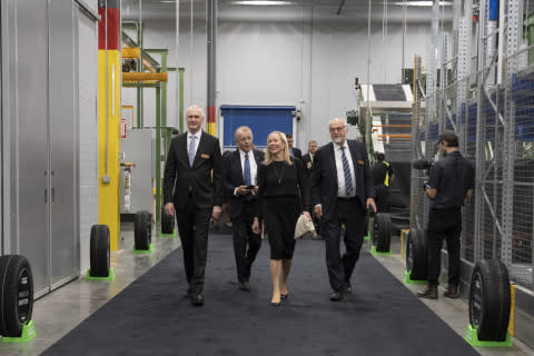 Nokian Tyres Opens Its U.S. Production Factory in Dayton, Tennessee