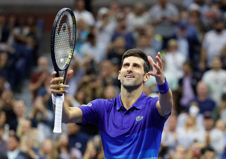 Novak Djokovic is five wins from winning the calendar Grand Slam, last accomplished by Rod Laver in 1969.