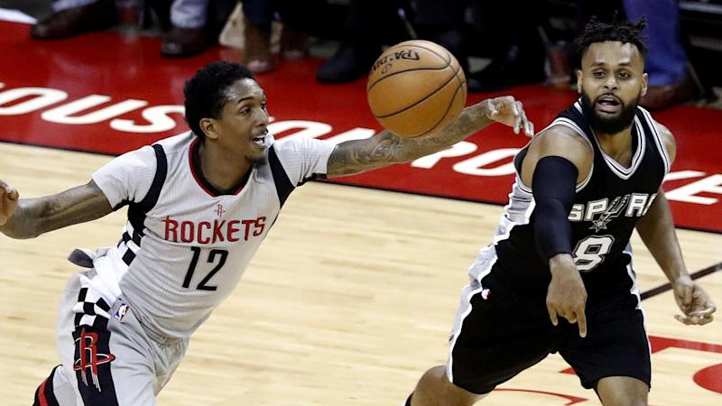 Spurs beat Rockets in NBA Conference semis