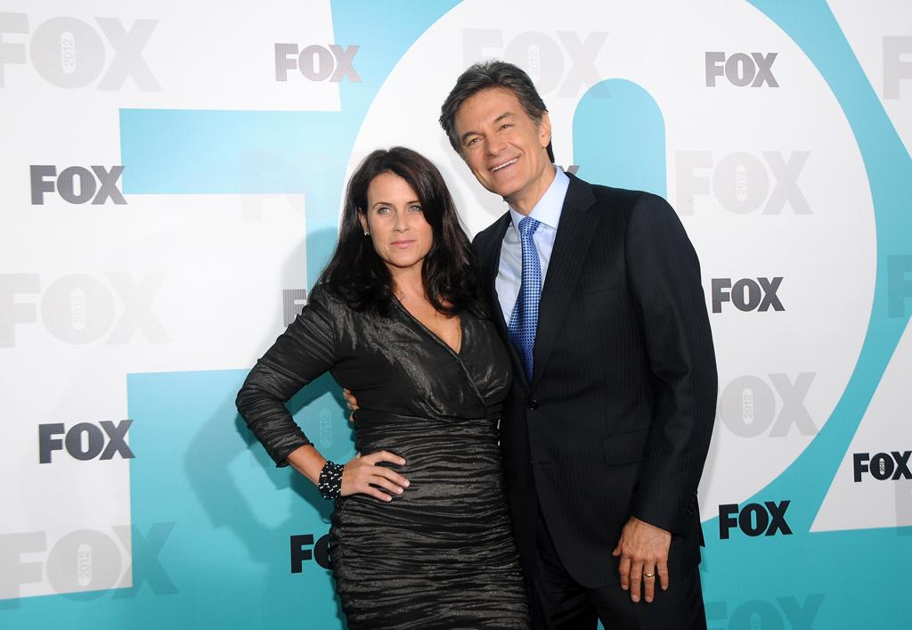 """Lisa Oz and Dr.Mehmet Oz (""""Dr. Oz"""") attend the Fox 2012 Upfronts Post-Show Party on May 14, 2012 in New York City."""