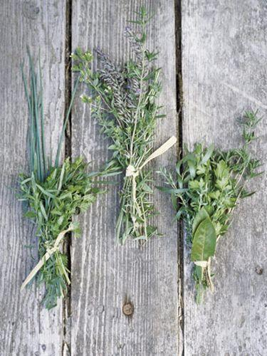 <p>To keep herbs tasting fresh for up to a month, store whole bunches, washed and sealed in plastic bags, in the freezer. When you need them, they'll be easier to chop, and they'll defrost the minute they hit a hot pan.</p>