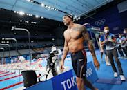 <p>The swimmer already owned the world record in the 100m butterfly going into the final for his signature event.</p>