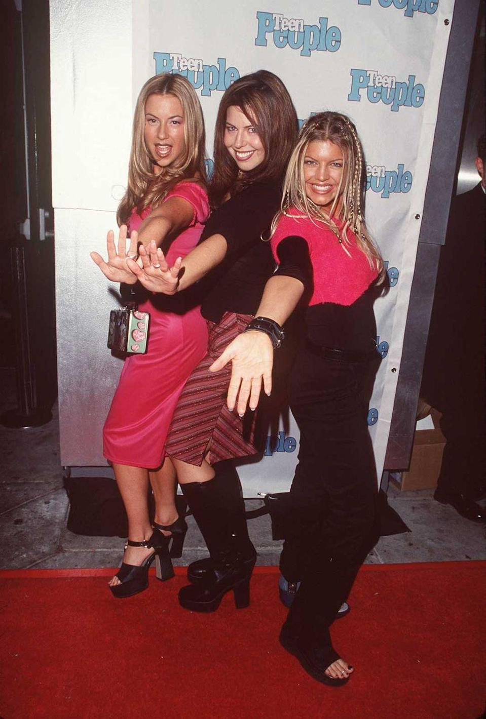 <p>Before Fergie joined The Black Eyed Peas, she was in a girl group called Wild Orchid. The members were seen at Teen People's First Anniversary Party in 1999. </p>