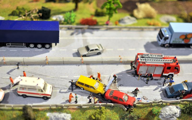 The crash data recorded by the telematics box in one of the cars did not match up to the drivers' damage claims - © Daniele Pietrobelli / Alamy Stock Photo