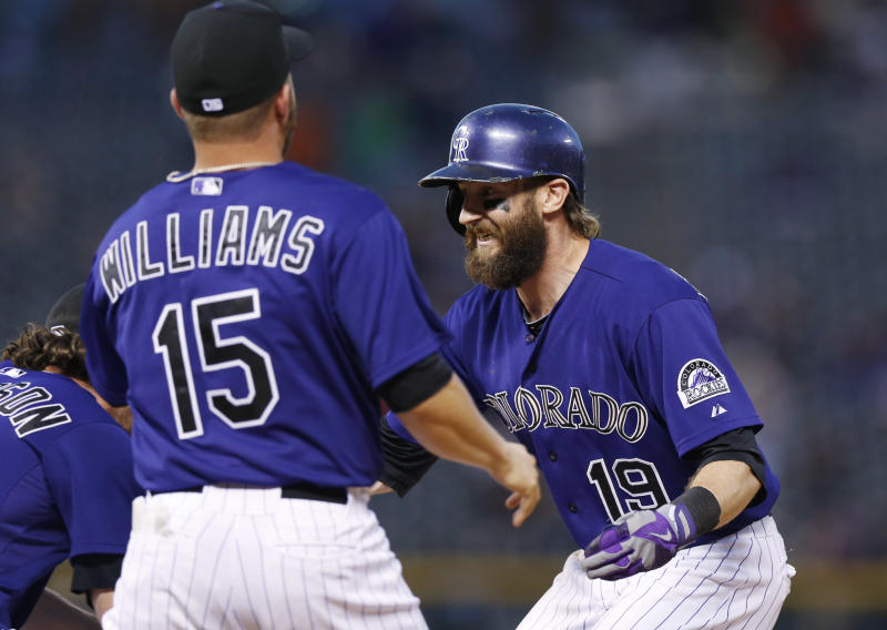 Rockies win, after losing end of suspended game