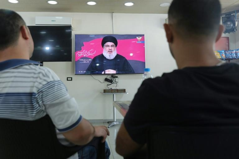 Hezbollah chief Hassan Nasrallah has denied his movement has any illicit involvement at the port