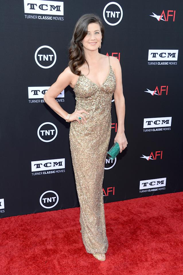 HOLLYWOOD, CA - JUNE 06: Actress Daphne Zuniga attends AFI's 41st Life Achievement Award Tribute to Mel Brooks at Dolby Theatre on June 6, 2013 in Hollywood, California. 23647_006_JK_0086.JPG (Photo by Jason Kempin/Getty Images for AFI)