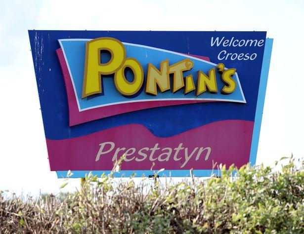 Pictured is Pontin's in Prestatyn.