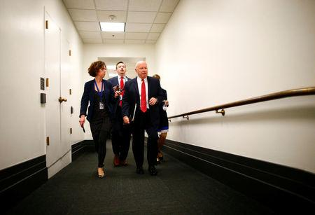 U.S. House Ways and Means Committee Chairman Representative Kevin Brady arrives at a House of Representatives conference meeting on Capitol Hill in Washington