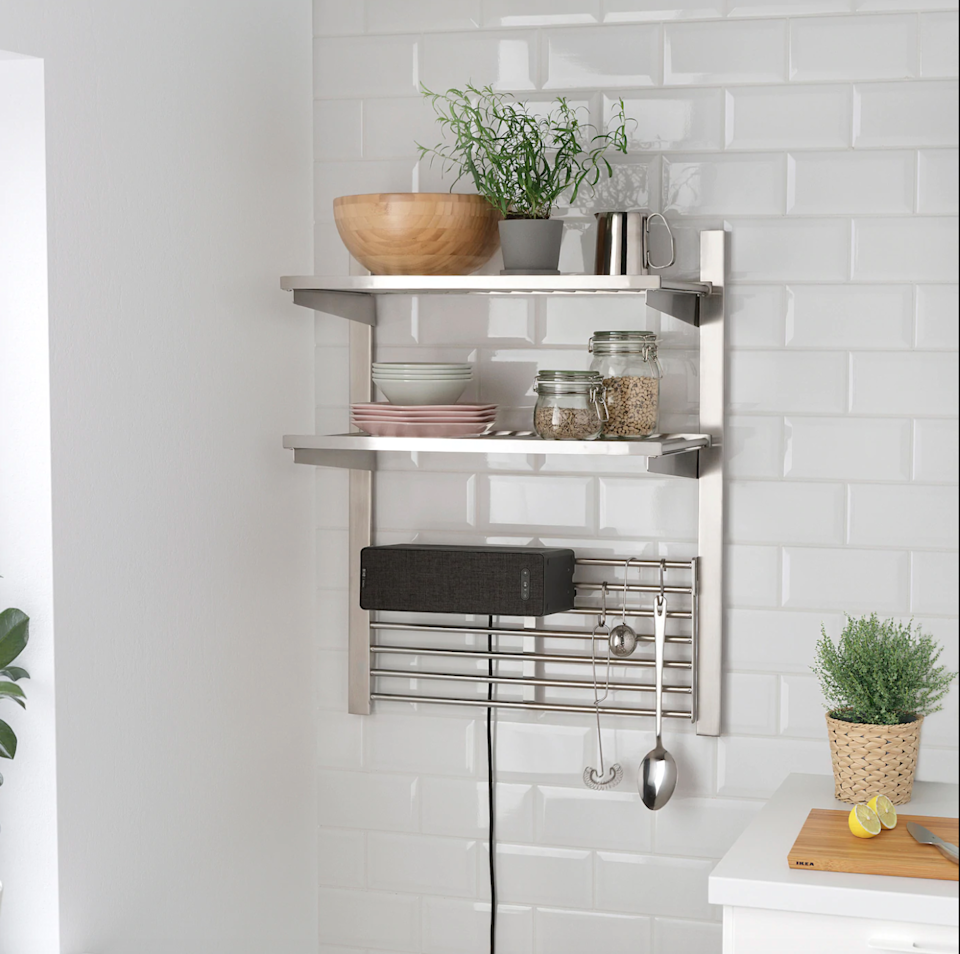 """<strong><h2><a href=""""https://www.ikea.com/us/en/p/symfonisk-wifi-bookshelf-speaker-black-00357561/"""" rel=""""nofollow noopener"""" target=""""_blank"""" data-ylk=""""slk:Ikea"""" class=""""link rapid-noclick-resp"""">Ikea</a></h2></strong><br><strong>Dates: Now - September 7</strong><br>If you were ever a college student, you're familiar with the Ikea sales page. Right now they're offering amazing savings on speakers and other gadgets, all of which can be found at retailers like <strong><a href=""""https://www.amazon.com/IKEA-Symfonisk-Bookshelf-Speaker-804-352-11/dp/B082W1NJWF"""" rel=""""nofollow noopener"""" target=""""_blank"""" data-ylk=""""slk:Amazon"""" class=""""link rapid-noclick-resp"""">Amazon</a></strong> and <a href=""""https://www.ikea.com/us/en/p/symfonisk-wifi-bookshelf-speaker-black-00357561/"""" rel=""""nofollow noopener"""" target=""""_blank"""" data-ylk=""""slk:Ikea"""" class=""""link rapid-noclick-resp""""><strong>Ikea</strong></a>.<br><br><strong>Ikea</strong> WiFi bookshelf speaker, $, available at <a href=""""https://go.skimresources.com/?id=30283X879131&url=https%3A%2F%2Fwww.ikea.com%2Fus%2Fen%2Fp%2Fsymfonisk-wifi-bookshelf-speaker-black-00357561%2F"""" rel=""""nofollow noopener"""" target=""""_blank"""" data-ylk=""""slk:Ikea"""" class=""""link rapid-noclick-resp"""">Ikea</a>"""