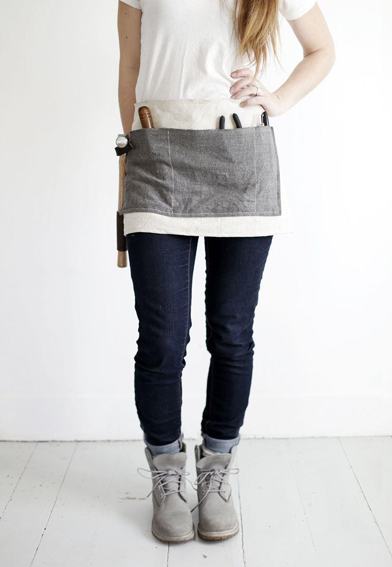 """<p>Does your dad love to fix things and do work around the house? This tool apron is the perfect DIY gift to present him with for Father's Day.</p><p><strong>Get the tutorial at <a href=""""https://themerrythought.com/diy/diy-waxed-canvas-tool-apron/"""" rel=""""nofollow noopener"""" target=""""_blank"""" data-ylk=""""slk:A Merry Thought"""" class=""""link rapid-noclick-resp"""">A Merry Thought</a>.</strong></p><p><a class=""""link rapid-noclick-resp"""" href=""""https://www.amazon.com/Mybecca-Unprimed-Cotton-Canvas-Natural/dp/B01ATX24NI/ref=sr_1_6?tag=syn-yahoo-20&ascsubtag=%5Bartid%7C10050.g.1171%5Bsrc%7Cyahoo-us"""" rel=""""nofollow noopener"""" target=""""_blank"""" data-ylk=""""slk:SHOP CANVAS FABRIC"""">SHOP CANVAS FABRIC</a></p>"""