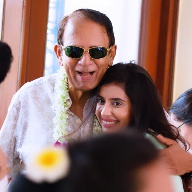 Charu and father in law