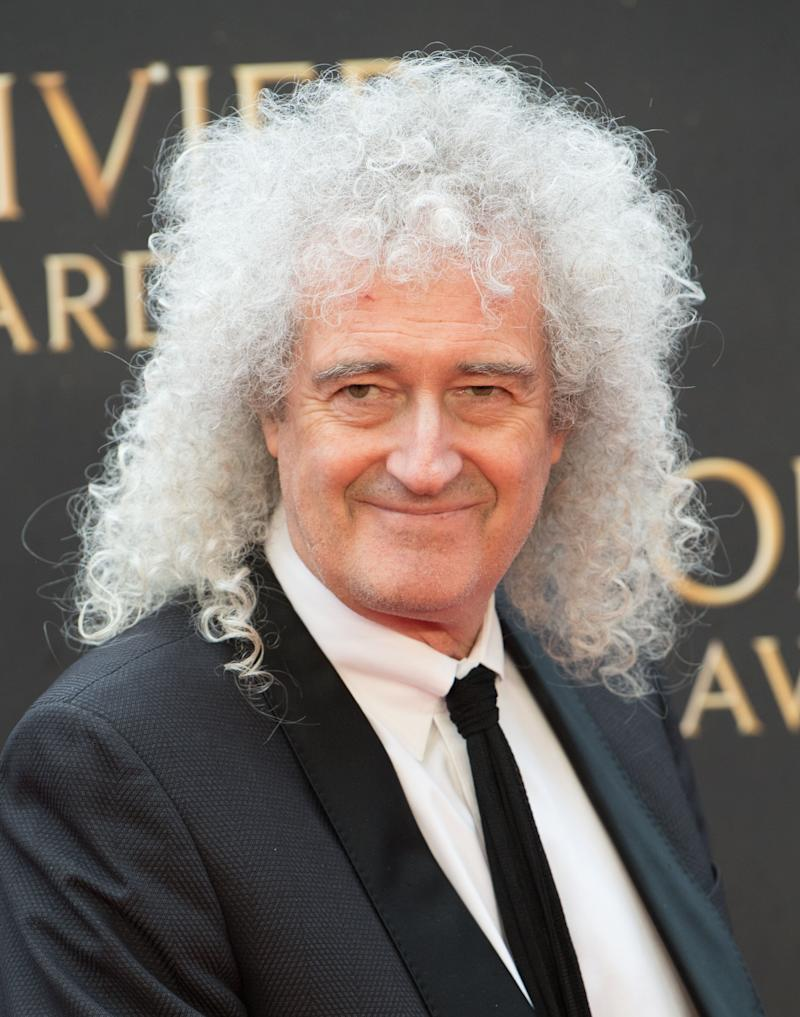 Brian May (Photo: Samir Hussein via Getty Images)