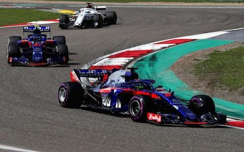 <span>Gasly's collision with his team-mate Hartley marked a poor weekend for Toro Rosso. </span> <span>Credit: GETTY IMAGES </span>