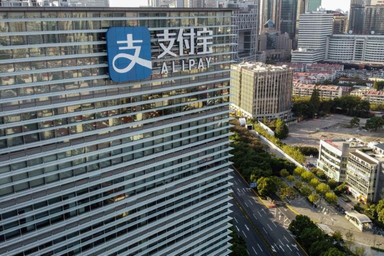 Alipay is China's biggest payment app, with more than one billion users in the country and other Asian nations (AFP/Hector RETAMAL)