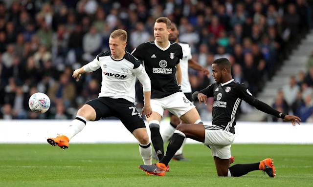 Derby 1 Fulham 0: Cameron Jerome header leaves Cottagers' promotion dreams hanging by a thread