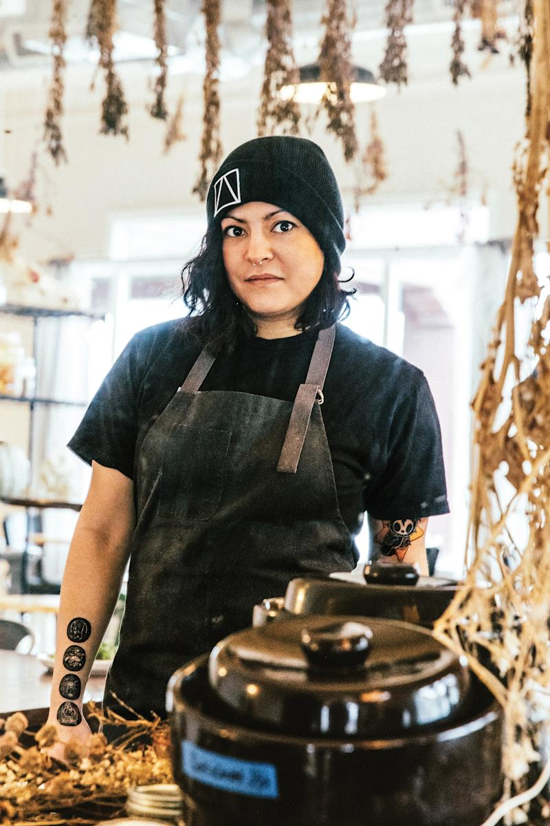 Misti Norris, chef/owner of Petra and the Beast in Dallas, TX